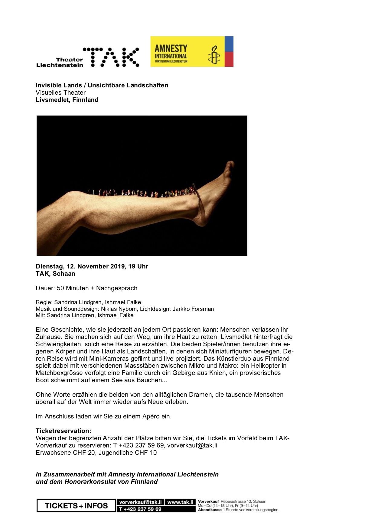Einladung Invis. Lands 12.11.19
